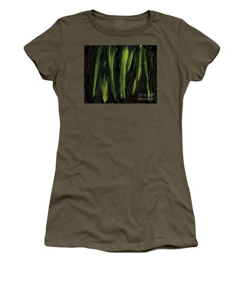 Stepping Through Mens Blades Of Mars Women's T-Shirt (Junior Cut) by Talisa Hartley