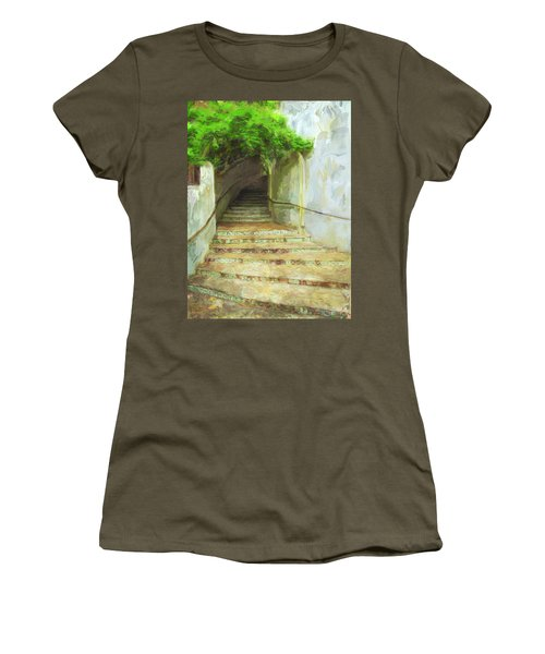 Steps To La Villita Women's T-Shirt