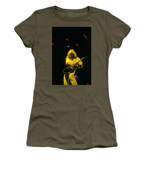 Steve Clark Women's T-Shirt (Junior Cut) by Rich Fuscia