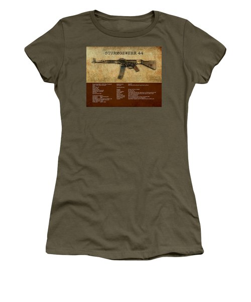 Stg 44 Sturmgewehr 44 Women's T-Shirt (Junior Cut) by John Wills