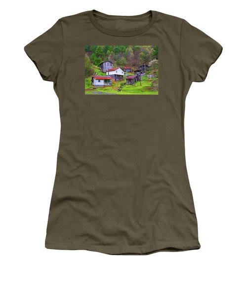 Stike Holler Women's T-Shirt (Junior Cut) by Dale R Carlson