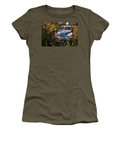 Women's T-Shirt (Athletic Fit) featuring the photograph Still A Knockout by Jim Vance