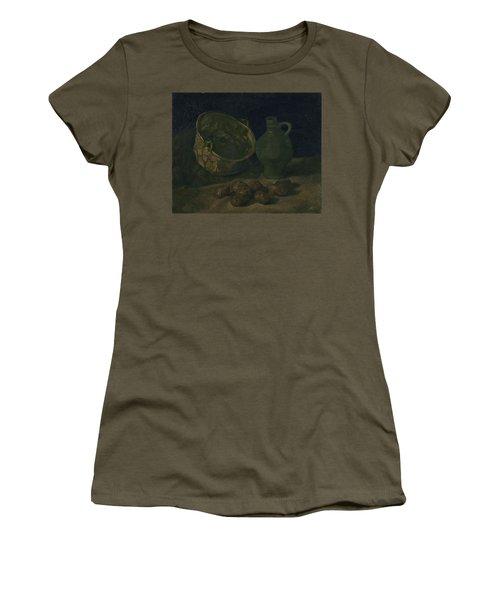 Still Life With Brass Cauldron And Jug, 1885 Women's T-Shirt