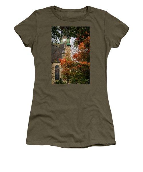 Stone Chapel Fall Women's T-Shirt