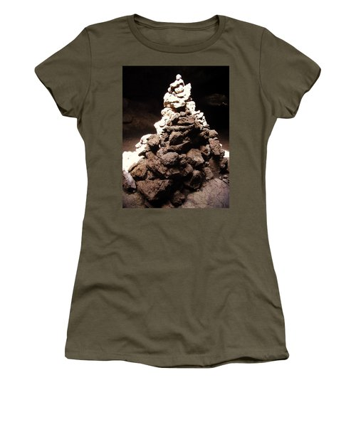 Women's T-Shirt (Athletic Fit) featuring the photograph Stone Soul by Lucia Sirna