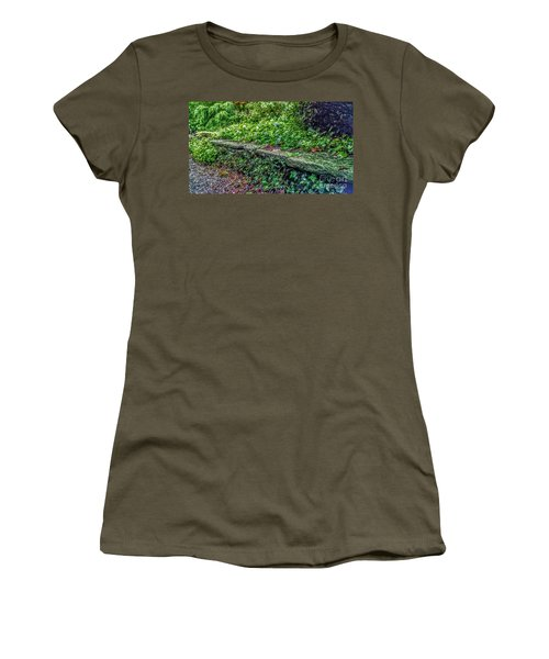 Stone Wall At Laurelwood Women's T-Shirt