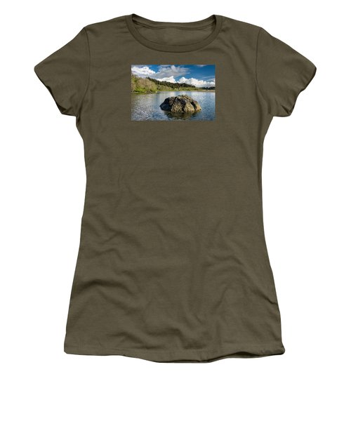 Storm Clearing On The Little River Women's T-Shirt (Junior Cut) by Greg Nyquist