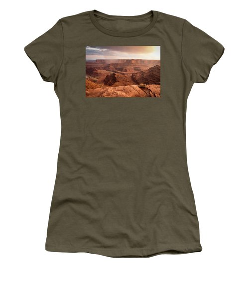 Storm Over Canyonlands Women's T-Shirt