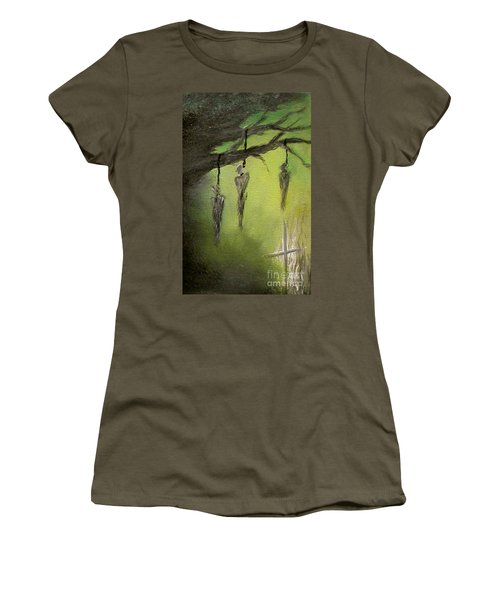 Strange Fruit Women's T-Shirt (Athletic Fit)