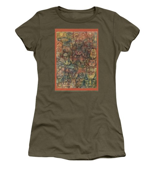 Strange Garden Women's T-Shirt (Athletic Fit)