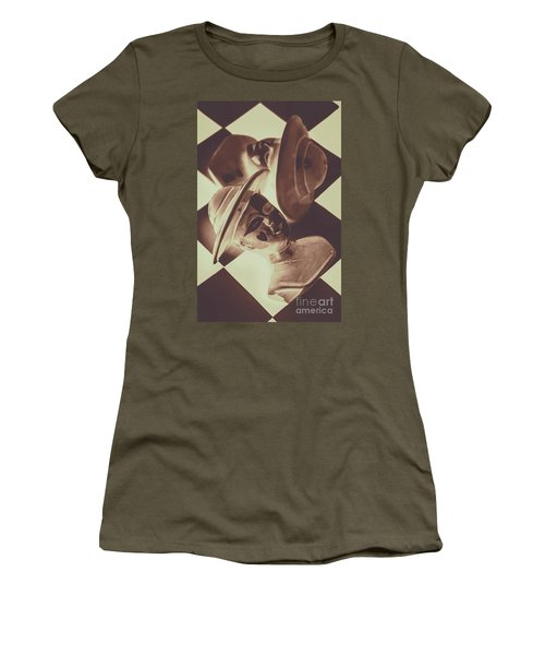 Strategic Defeat In A Competition Of Romantic Loss Women's T-Shirt