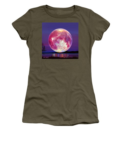 Strawberry Solstice Moon Women's T-Shirt