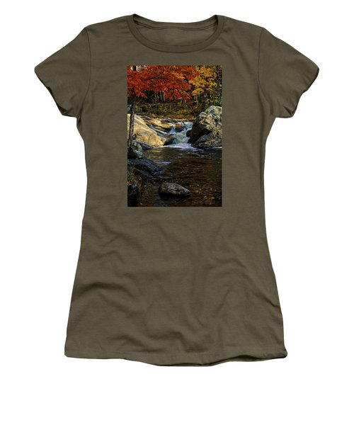 Stream In Autumn No.17 Women's T-Shirt
