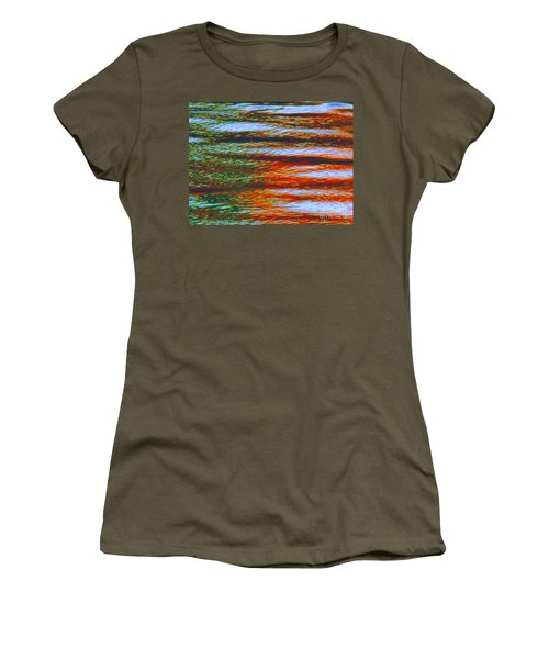 Streaming Rays Of Love Women's T-Shirt (Athletic Fit)