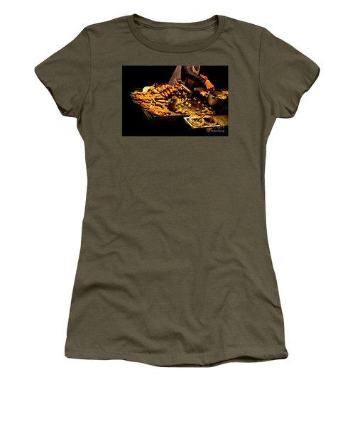 Women's T-Shirt (Junior Cut) featuring the photograph Street Meat by Al Bourassa