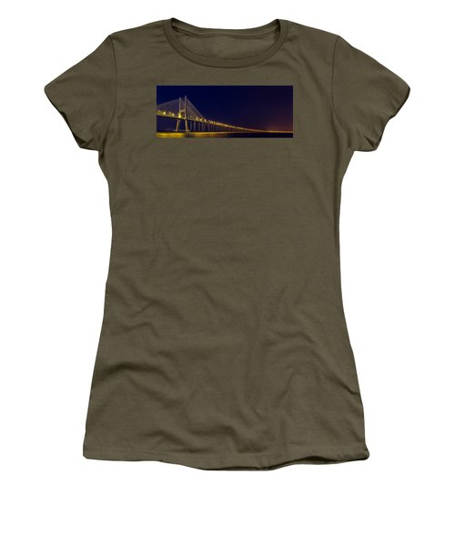 Women's T-Shirt featuring the photograph Stretching Into Infinity by Bruno Rosa