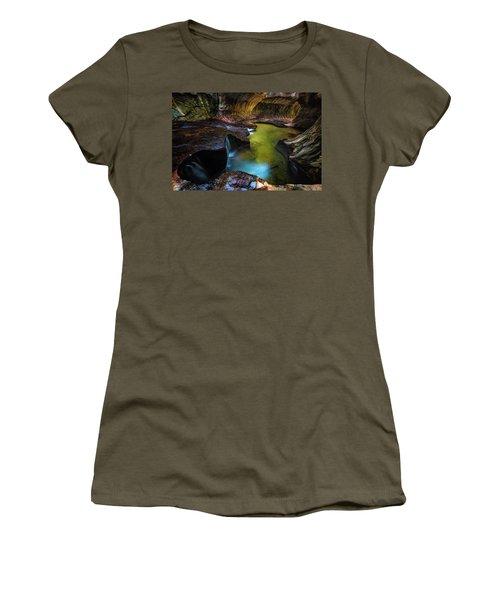 Subway Pools Women's T-Shirt (Athletic Fit)