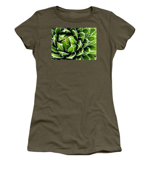 Succulent In Color Women's T-Shirt (Junior Cut) by Ranjini Kandasamy