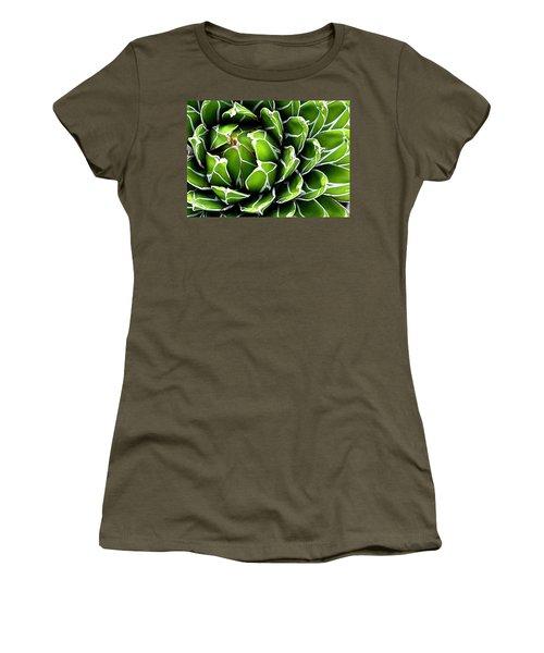 Succulent In Color Women's T-Shirt (Athletic Fit)