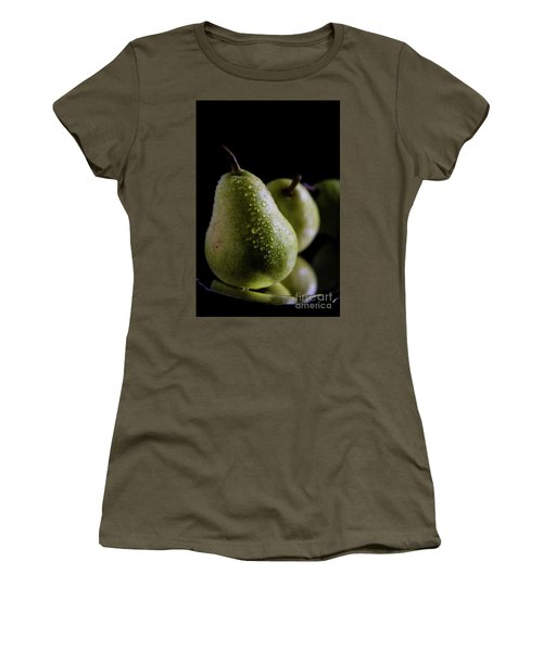 Succulent Pears Women's T-Shirt (Athletic Fit)