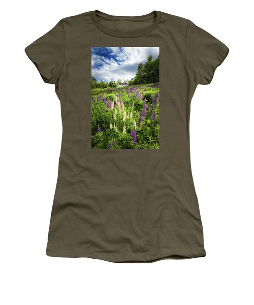 Women's T-Shirt (Junior Cut) featuring the photograph Sugar Hill by Robert Clifford