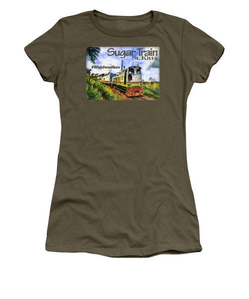 Sugar Train St. Kitts Shirt Women's T-Shirt (Athletic Fit)