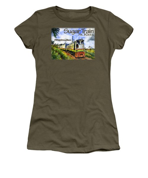 Sugar Train St. Kitts Shirt Women's T-Shirt (Athletic Fit)