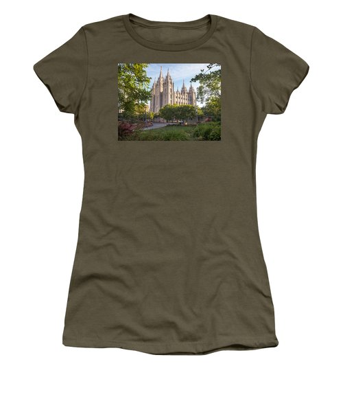 Summer At Temple Square Women's T-Shirt