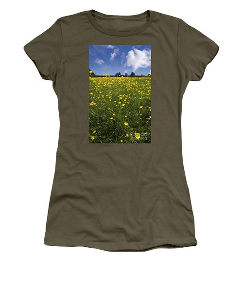 Summer Buttercups Women's T-Shirt