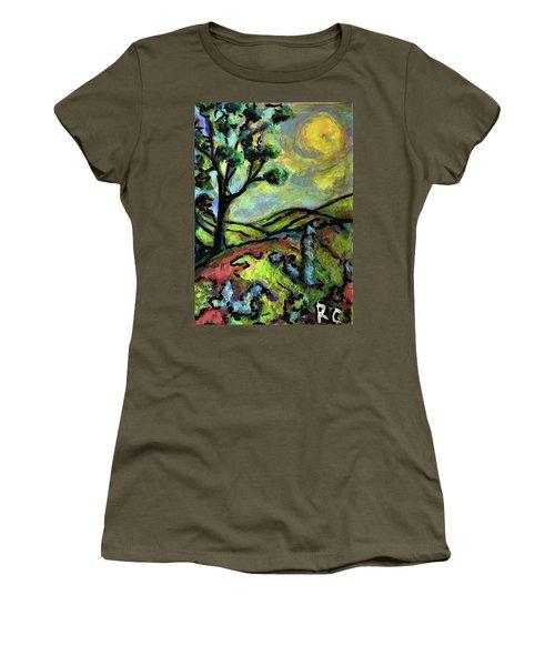 Summer Day Women's T-Shirt (Junior Cut) by Rae Chichilnitsky