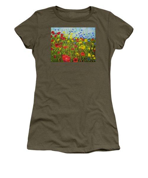 Summer Flowers Women's T-Shirt