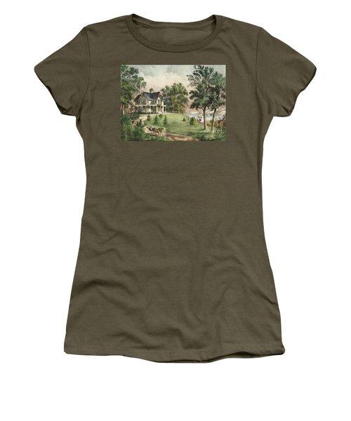 Summer In The Highlands, 1867 Women's T-Shirt