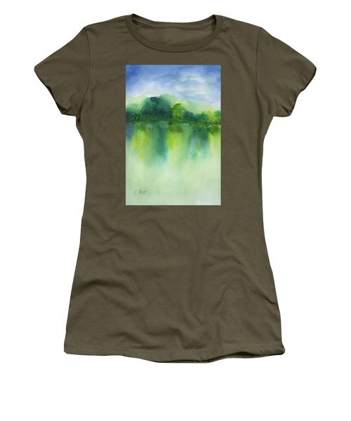 Summer Landscape Women's T-Shirt (Athletic Fit)