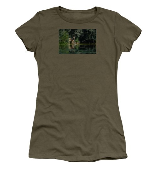 Summer Morning Walk Women's T-Shirt (Athletic Fit)