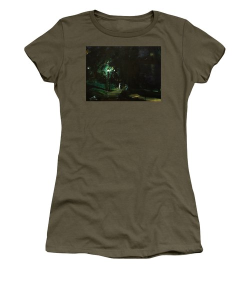 Summer Night Riverside Drive Women's T-Shirt