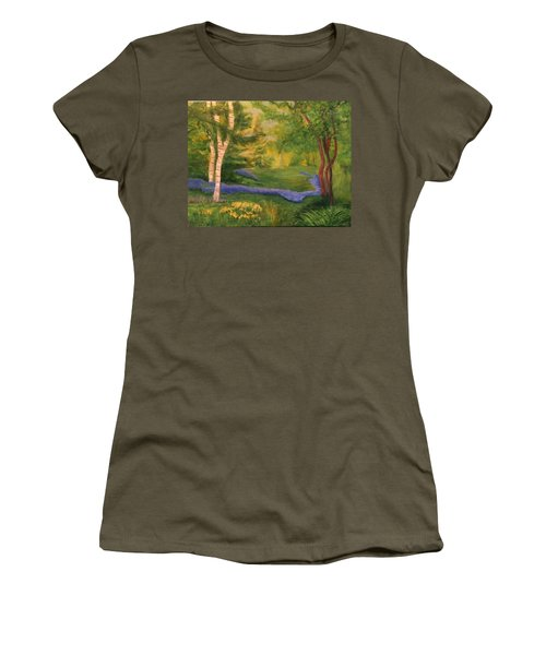 Summer On Orcas Island Women's T-Shirt