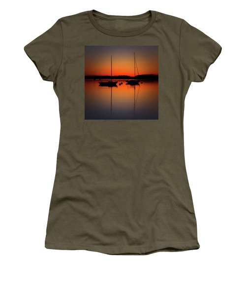 Summer Sunset Calm Anchor Women's T-Shirt