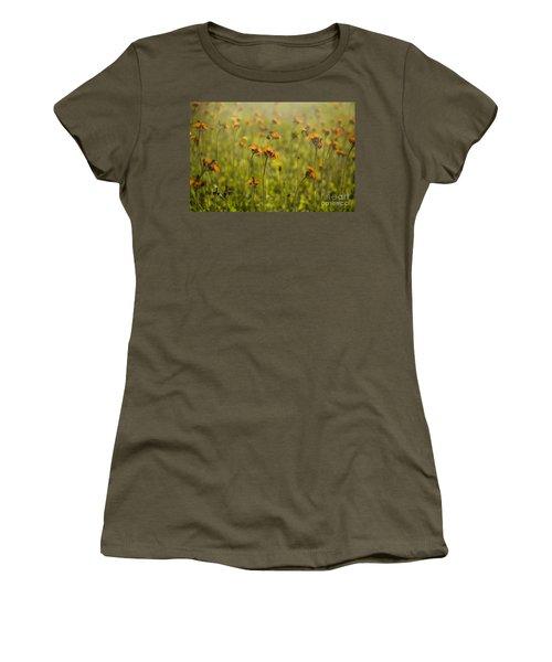 Summer Wildflowers Women's T-Shirt (Junior Cut) by Diane Diederich