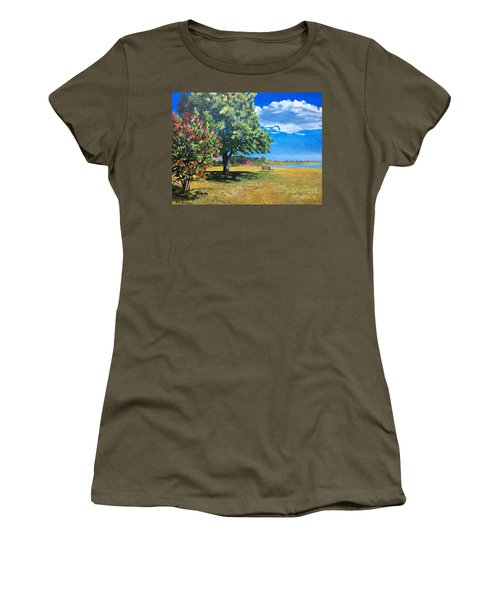 Summer's End In Biddeford At Biddeford  Pool Women's T-Shirt