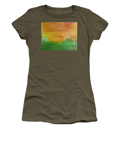 Sun And Grass In Harmony Women's T-Shirt