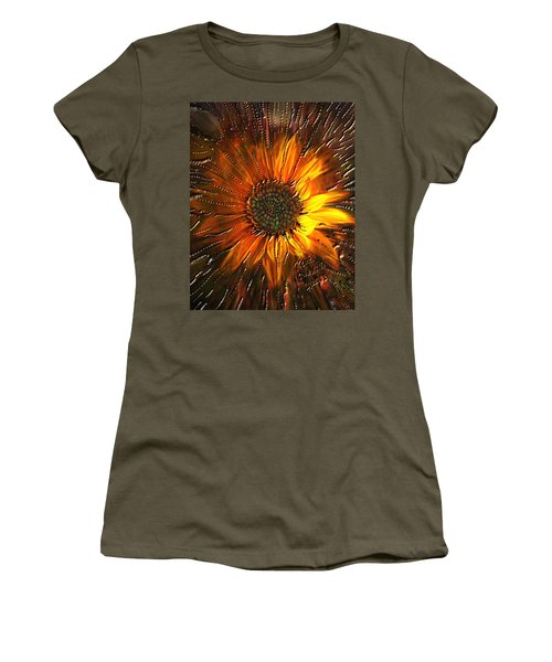 Sun Burst Women's T-Shirt (Athletic Fit)
