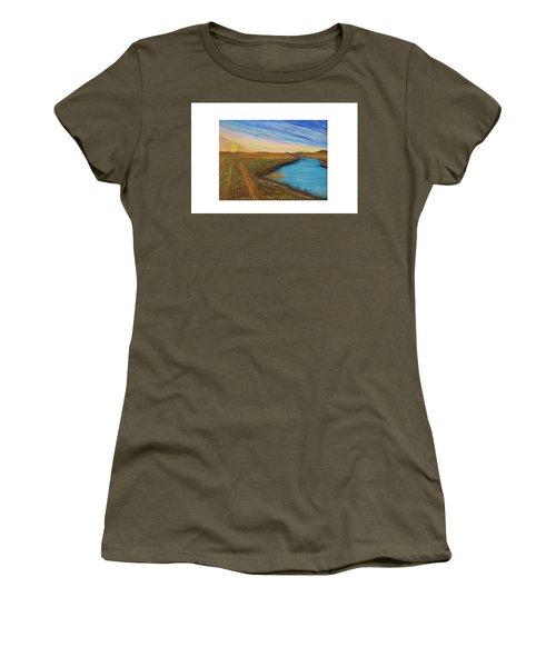 Sun Up Women's T-Shirt (Athletic Fit)