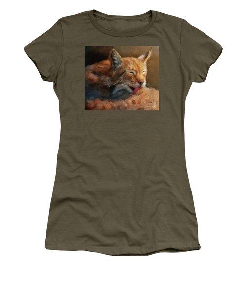 Women's T-Shirt (Junior Cut) featuring the photograph Sunbathing by Lois Bryan