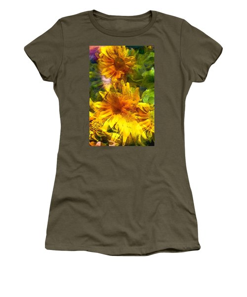 Sunflower 6 Women's T-Shirt (Athletic Fit)