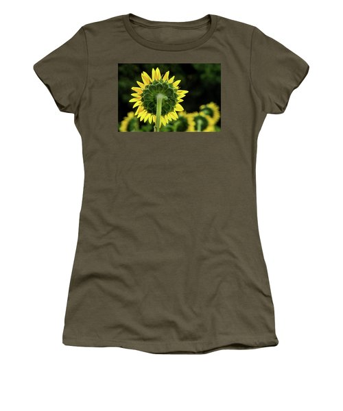 Sunflower Back Women's T-Shirt