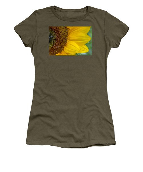 Sunflower Closeup Women's T-Shirt