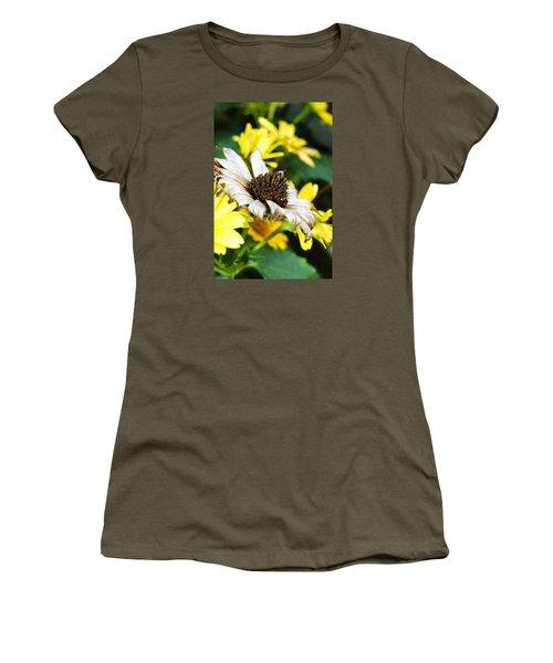 Sunflower Promise Women's T-Shirt (Junior Cut) by Margie Avellino