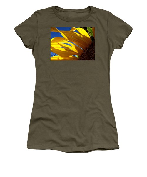 Sunflower Shadows Women's T-Shirt (Athletic Fit)
