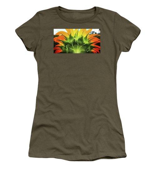 Sunflower Sunburst Women's T-Shirt
