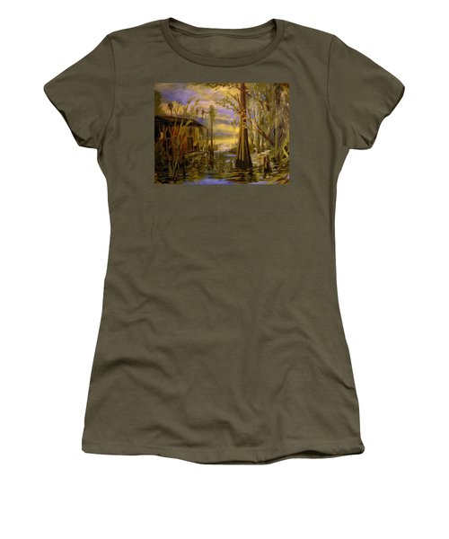 Sunlight On The Swamp Women's T-Shirt